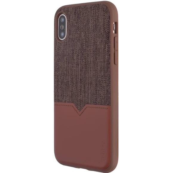 wholesale dealer cacf0 e47cd Evutec Northill Series IPhone X Brigandine Lava NWT